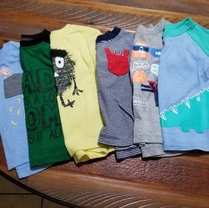 6 Toddler boy shirts